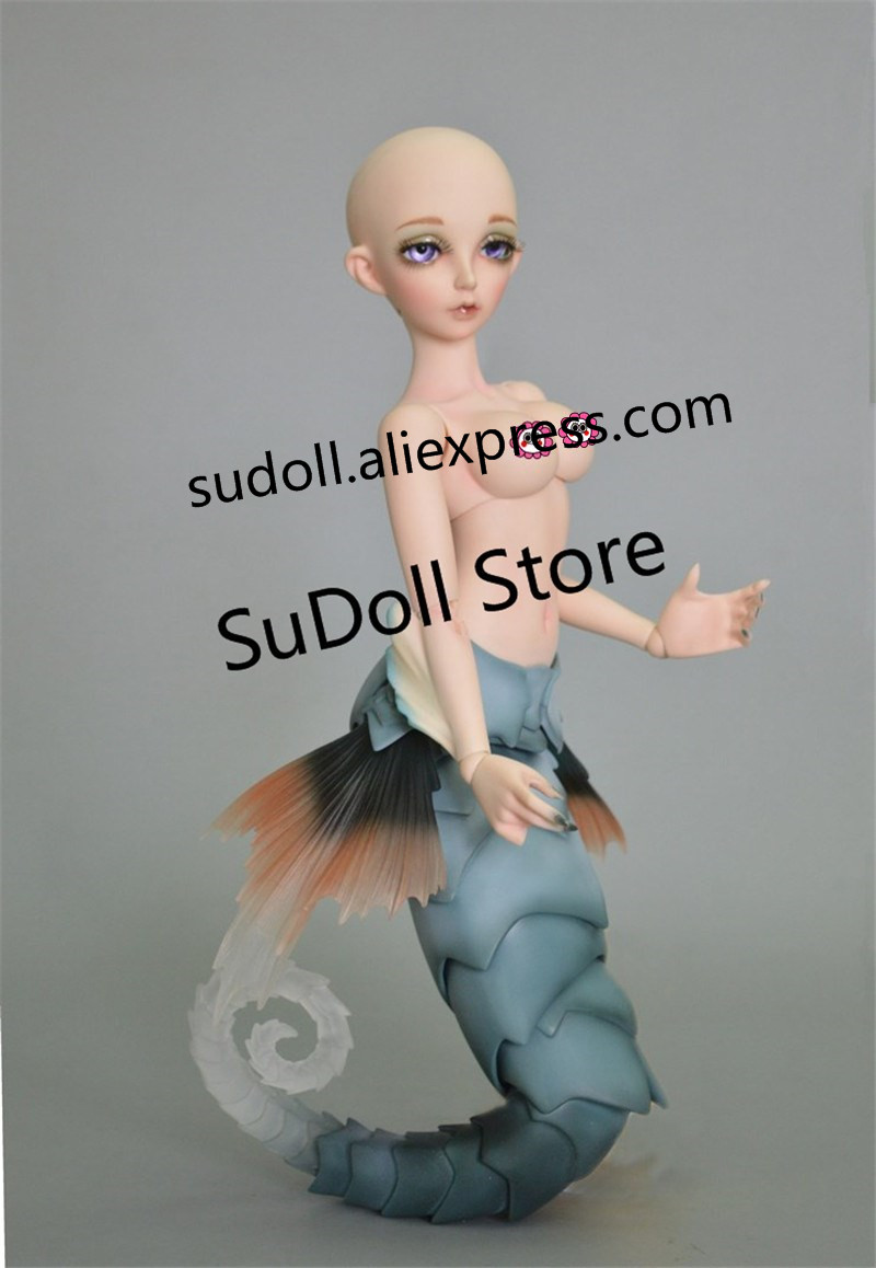 SUDOLL top quality 1 4 bjd doll girl animal sia sea horse cute toys