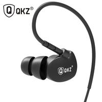 QKZ DM800 Sports Earphones Running With Memory Wire Waterproof IPX5 With Mic In-ear Earhook Music Headset Stereo fone de ouvido