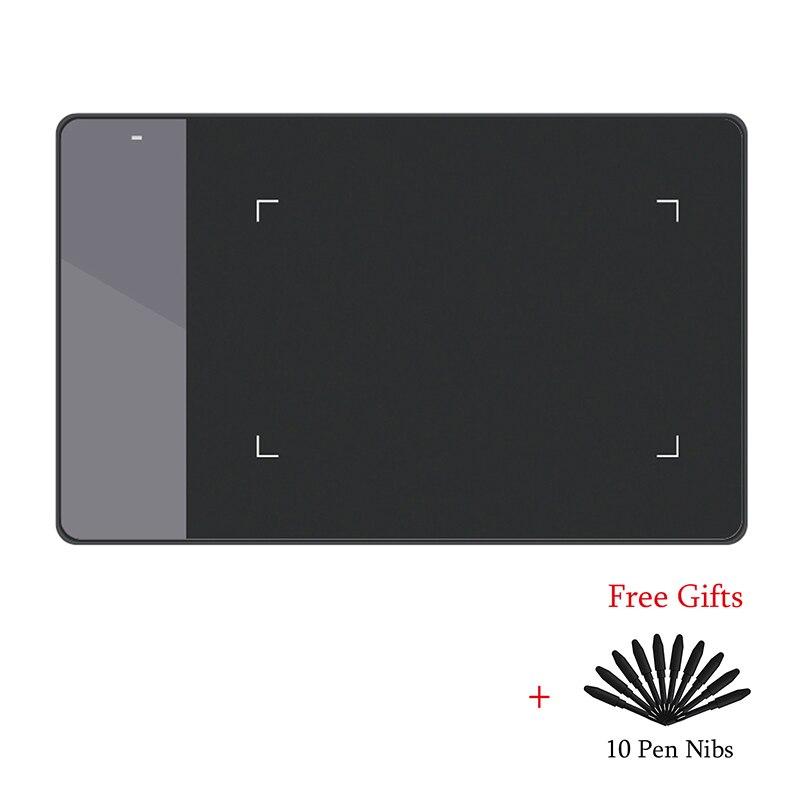 HUION 420 Pro 4 pulgadas Digital tabletas profesional pluma de firma Tablet gráficos del dibujo de la tableta de la mejor opción para OUS jugador del juego