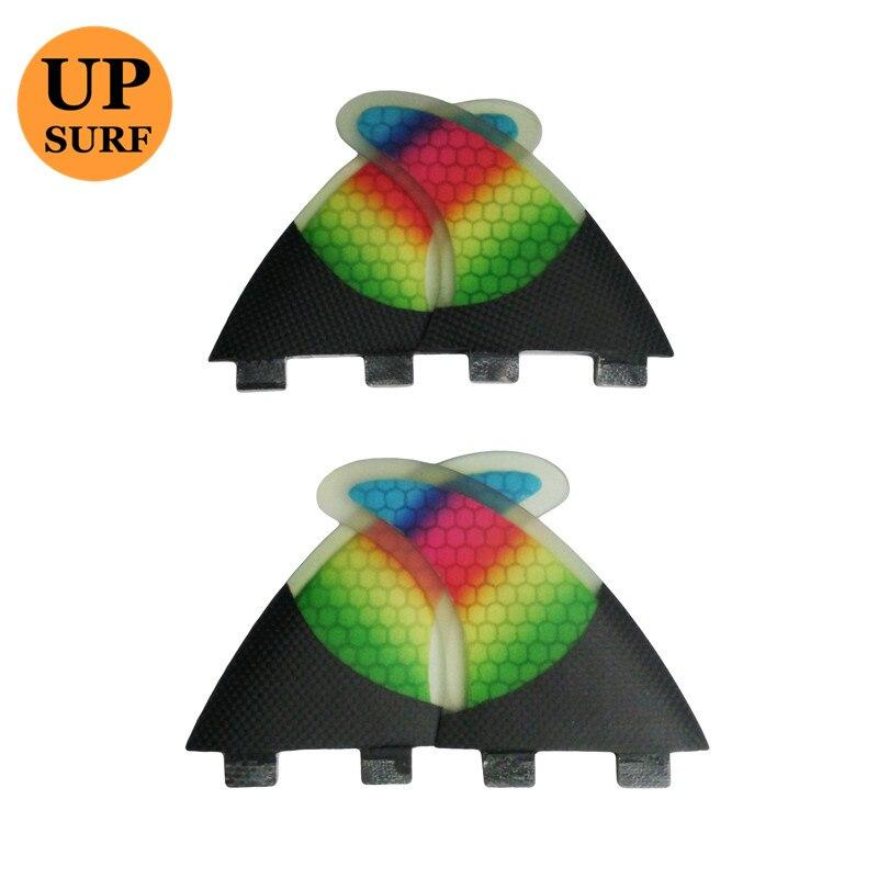 FCS Surf Fins G5+K2.1 Honeycomb Fins SUP Surfboard FCS Quad Fin Future Base Surfboard Fins Quad Set