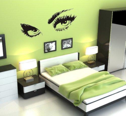 Aliexpresscom  Buy Eyes New Design Vinyl Wall Stickers Eye Wall - Wall decals eyes
