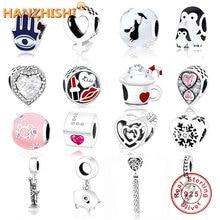 2019 Fashion Jewelry Fit Original Pandora Charm Bracelet 100% 925 Sterling Silver DIY Bead Fow Women Gift Berloque Factory Price цена в Москве и Питере