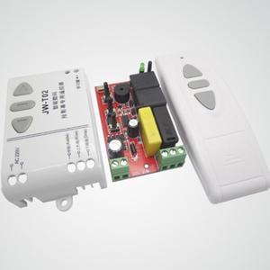 Image 4 -  T02 Draadloze Afstandsbediening + 315Mhz Front Controller Voor Elektrische Projector Schermen Elektrische Gordijnen/Toren Garagedeur