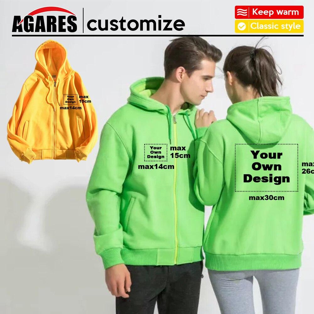 2019 Your OWN Design Brand Logo/Picture White Custom Men and women Sweatshirt S-4XL Plus Hoodie  Men Clothing Plus velvet808 S-8(China)