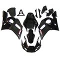 Fairings Fit Yamaha YZF600 R6 Year 98-02 1998 1999 2000 2001 2002 ABS Motorcycle Fairing Kit Bodywork Cowling Black  Matt