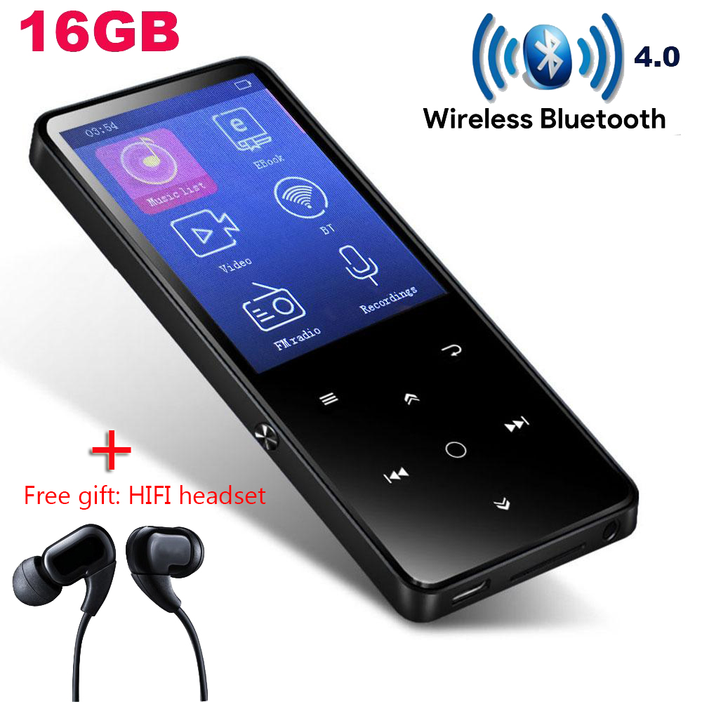 Chenfec Player Mp4 Bluetooth Mit Hifi Kopfhörer/lautsprecher 2,4 Bildschirm Touch Tasten Fm Radio Mini Sport Mp4player Tragbare Walkman Tragbares Audio & Video Mp4 Player