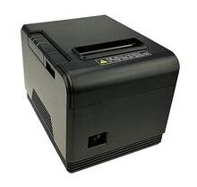 Toptan 80mm termal yazıcı makbuz küçük bilet barkod baskı ile otomatik kağıt kesme fonksiyonlu yüksek kaliteli