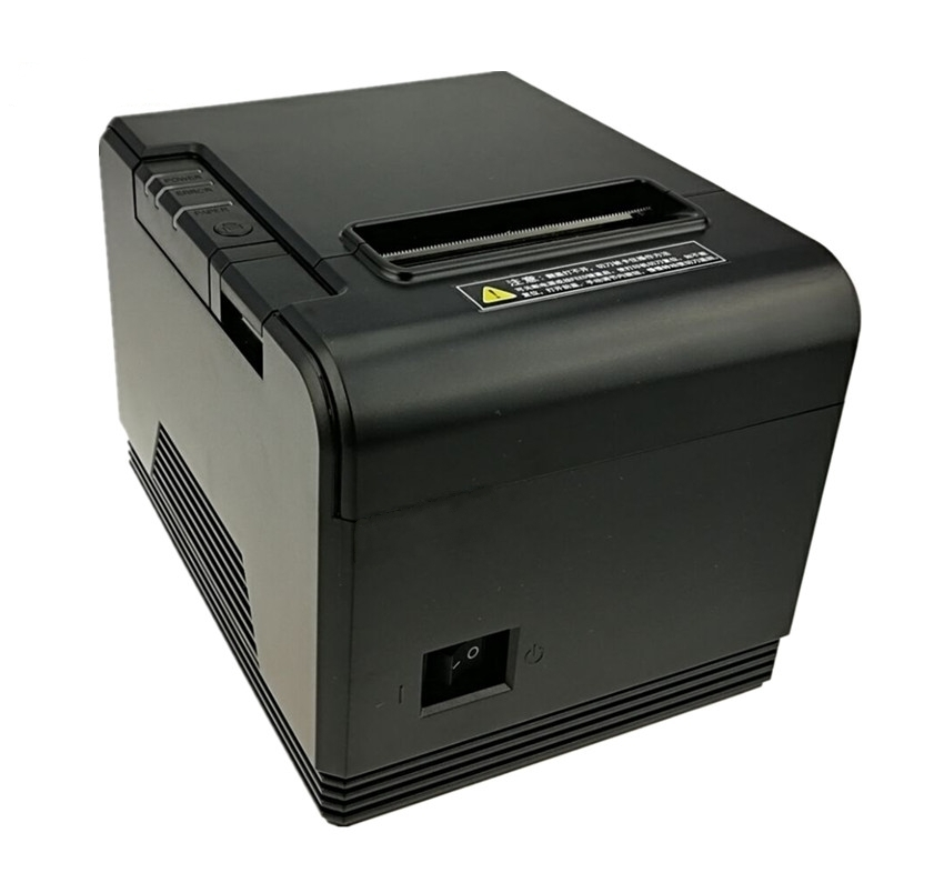 wholesale High quality 80mm thermal printer receipt Small ticket barcode POS printer With automatic paper cutting function techlogic 57x40 thermal paper supermarket pos machine paper 57 40 cashier register paper 5740 restaurant small ticket paper