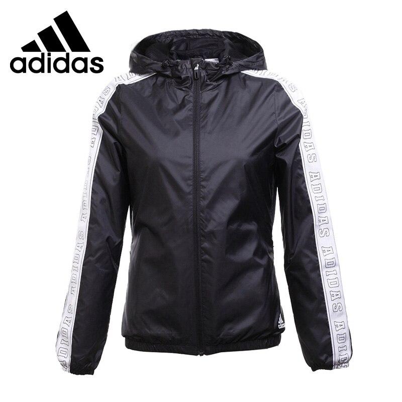 Original New Arrival 2017 Adidas WB WV TAPE Women's jacket Hooded Sportswear брюки adidas брюки муж m cs wv jgr