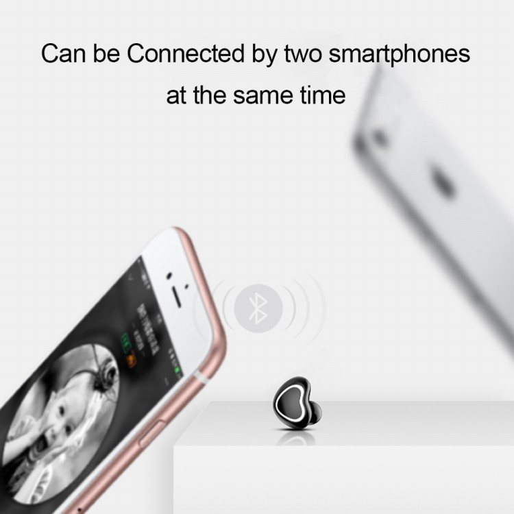 Wireless Bluetooth 4.1 Earphone Car Driving Business Charging Box Headphones Headset with Microphone for Android IOS Smartphones