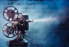 Filme Filme de Hollywood Retro Video foto fundo do estúdio Vinil pano de Computador impresso pano de fundo da festa de Alta qualidade