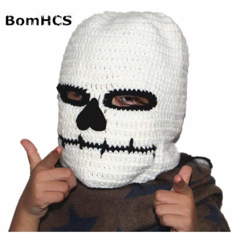 9d3836895c3 BomHCS Novelty Riding Hoods Beanie Mask Handmade Knitted Hat Men s    Women s Winter Warm Cap Halloween Party Gift-in Skullies   Beanies from  Apparel ...