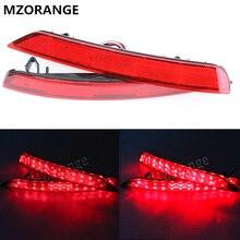 MZORANGE 1 Set Red LED car-styling rear light tail light For Subaru Forester impreza legacy Reflector headlight fog lamp 08~16
