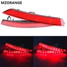Mzorange 1 компл. красный светодиодный автомобиль-Стайлинг задний хвост свет для Subaru Forester Impreza Legacy отражатель фар Туман лампа 08 ~ 16