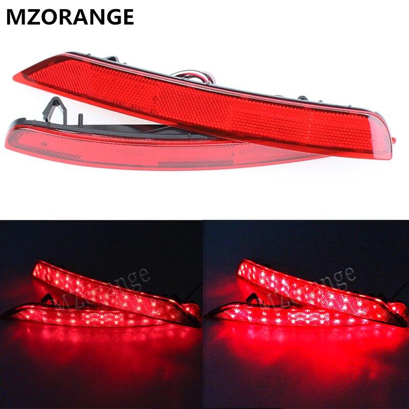 MZORANGE 1 satz Rote LED auto-styling hinten licht schwanz licht Für Subaru Forester impreza legacy Reflektor scheinwerfer nebel lampe 08 ~ 16