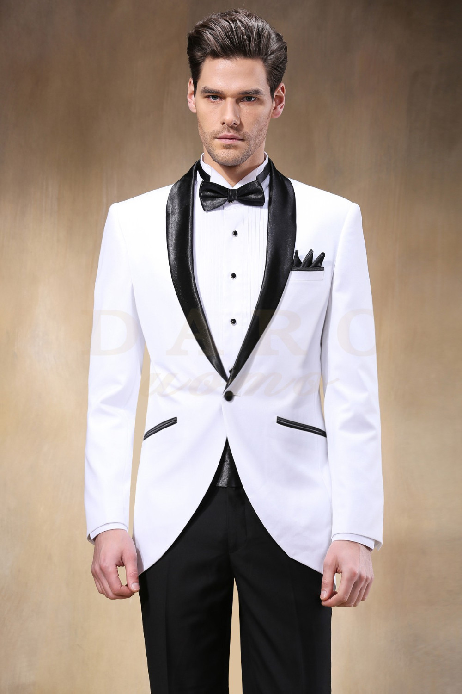 2015 New Style Men\'s Fashion White Wedding Suits Men Party Suits ...