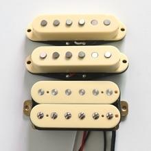 Электрический датчик черный/слоновая кость/белый SSH Alnico 5 гитарный пикап