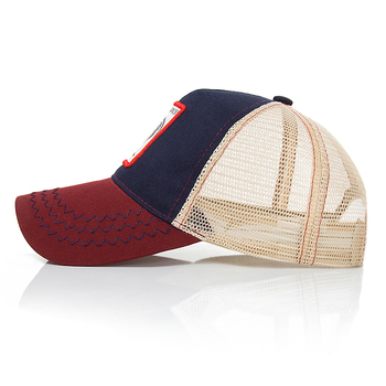 Brand Design Women Men Baseball Cap Summer Mesh Breathable Snapback Caps Unisex Animal Embroidery Hip Hop Hat Bone Wholesale
