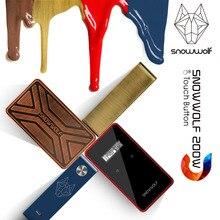 Caixa Original mod Snowwolf 200w-c cigarro eletrônico em estoque Agora!!! novos cores Touch Sreen Com max 235 watt de alta qualidade