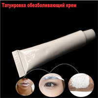 High Quality 1 Tube 10g Permanent Makeup Tattoo Eyebrow Lip Pain Relief Cream Lasting A Good