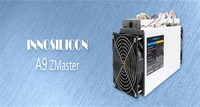 Innosilicon announces World Best Equihash Miner A9 ZMaster 50Ksol/s 620W,Zcash Miner +PSU Better than 5PC Z9 mini