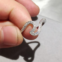 4d0dd11f0a7fb Sterling Silver Wave Ring Promotion-Shop for Promotional Sterling ...