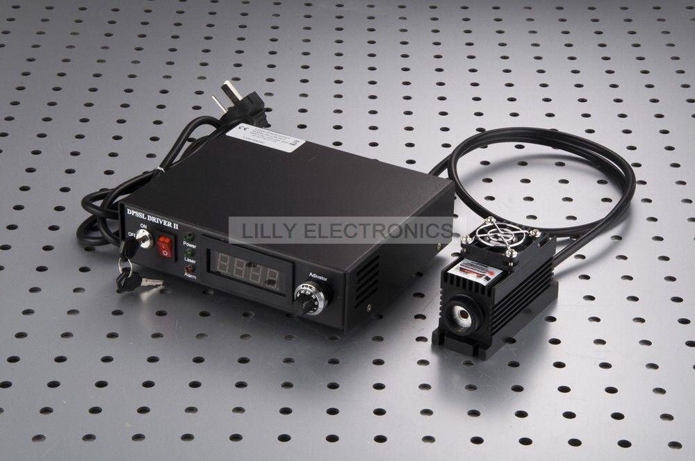 Premium quality 405nm 50mW Violet Laser Dot Module + TTL/Analog 0-30KHZ + TEC Cooling 24 hours working