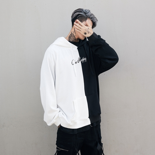 Dropshipping Suppliers Usa Men Hoodies Sweatshirts Smile Print Headwear Hoodie Hip Hop Streetwear Clothing Us size S-XL