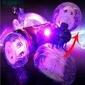 Трюк Автомобиль с Легкой Музыки Дистанционного Управления RC Автомобиль Игрушки электрические Игрушки Танцы Свалка Автомобилей Самосвал Прокатки Вращающихся Колеса Автомобиля грузовик