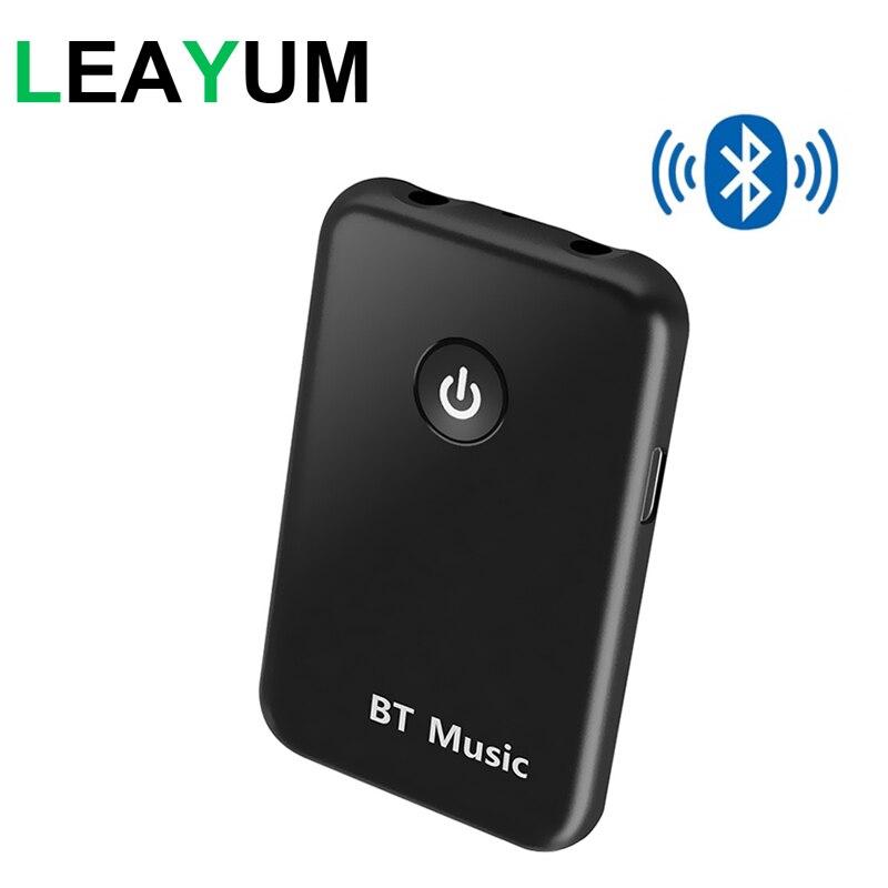 USB Bluetooth V4.2 Sender Empfänger 2 in 1 Wireless 3,5mm Audio Adapter für Tische Zuhause Sound System Auto Stereo system