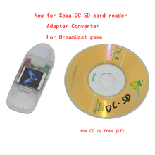 New for font b Sega b font DC SD card reader with indicator light Adapter Converter