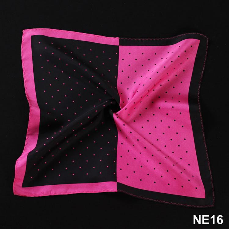 NE16 HN14K1 Hot Pink Black Polka Dot (3)