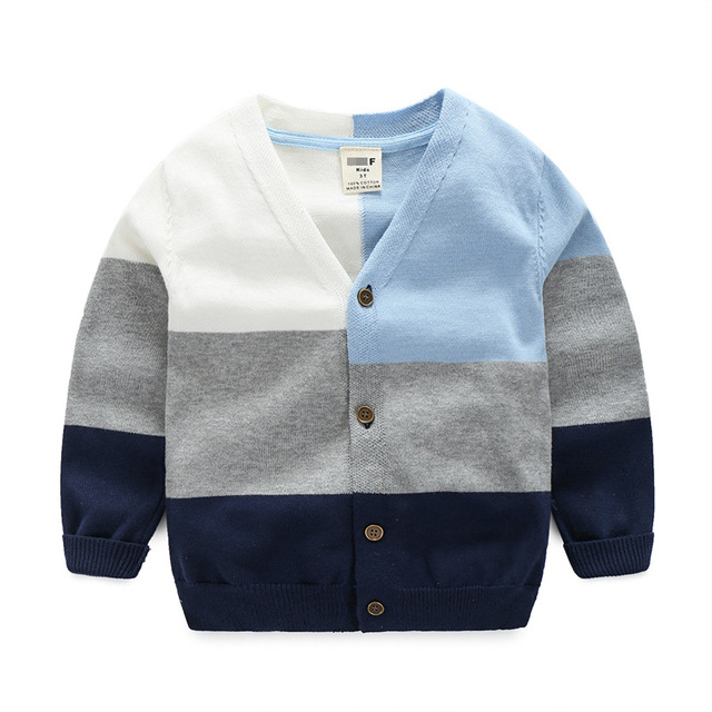 b1f60642c Kids Boy Sweater Spring Autumn Children Tiny Cotton Sweaters Pull ...