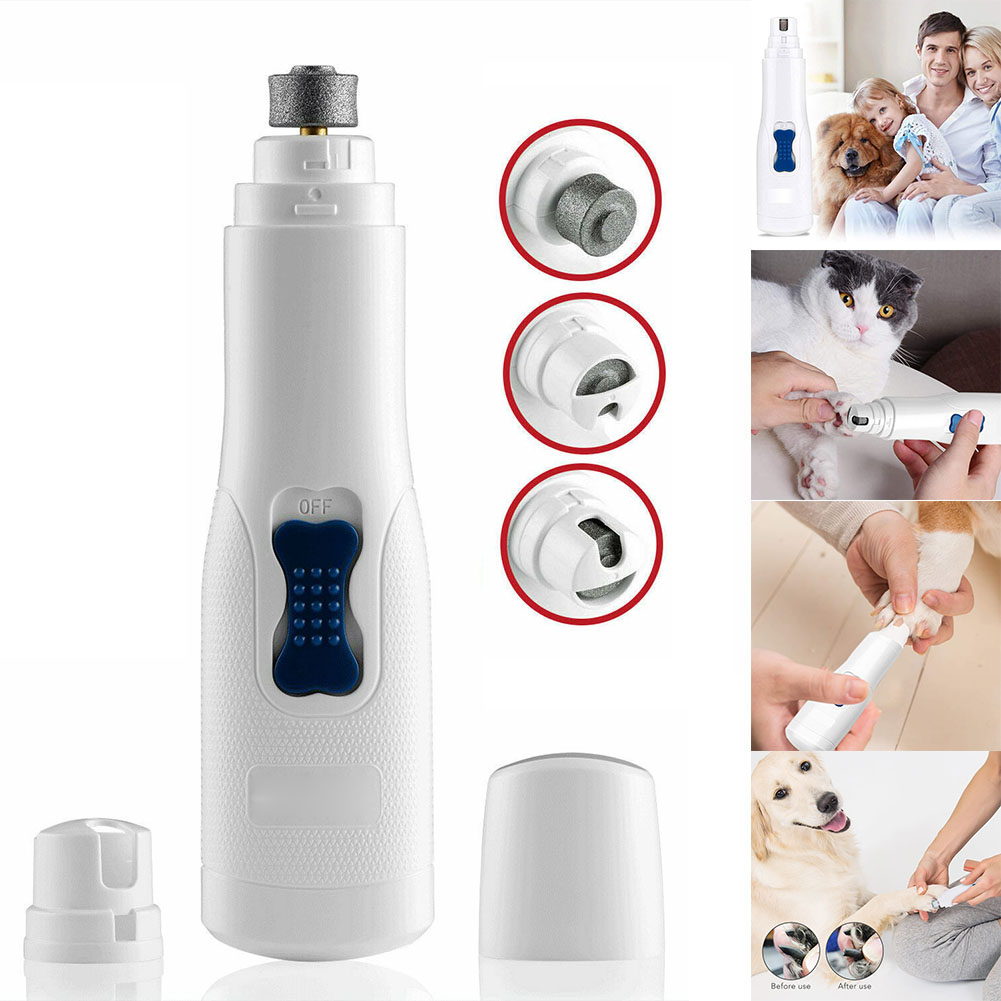 Professional Grooming Pets Nail Grinder Clipper Trimmer Tool for Dogs Cats WXV Sale