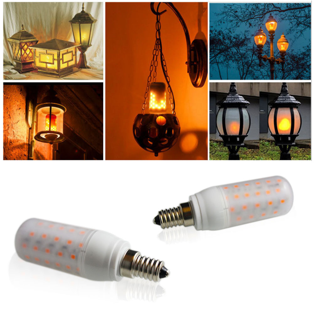 Lâmpadas Led e Tubos lâmpada led chama vela lâmpada Tipo de Item : Lâmpadas Led