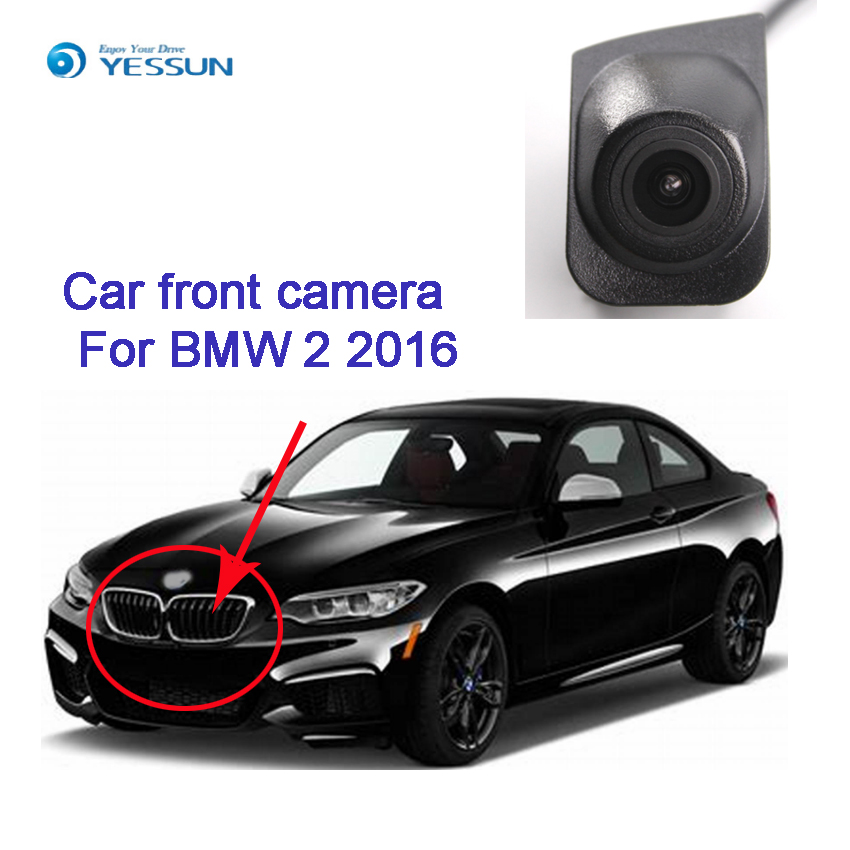 YESSUN Car Front View Camera for BMW 2 2016 Forward Positive Camera Frim Installation Under the car Logo image