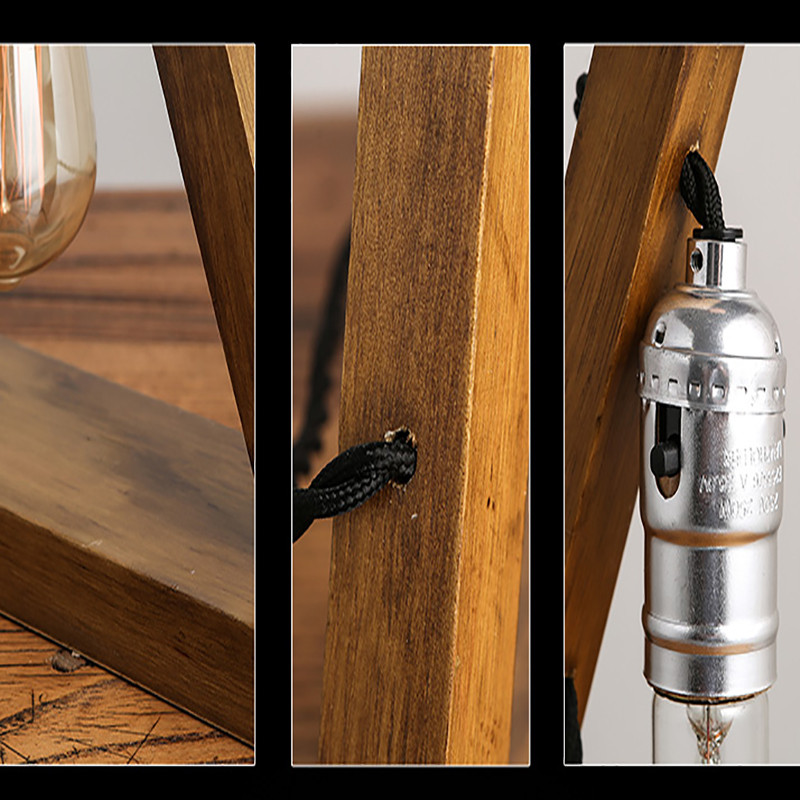 Wood Table Lamps 19
