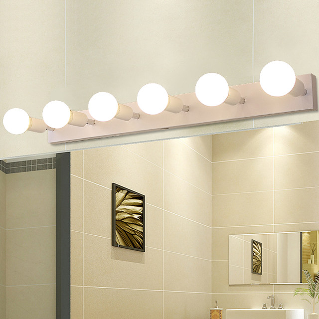 Online Shop Square mirror front light LED bathroom wall lamp bedroom ...