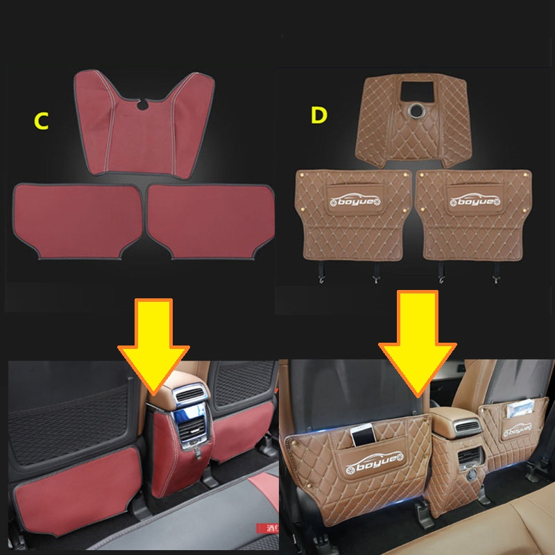 Geely Atlas,Boyue,NL3,Emgrand X7 EmgrarandX7,EX7,SUV ,Car seat anti-kick protective pad geely emgrand x7 emgrarandx7 ex7 suv car front fog lights seat cover box frame assembly