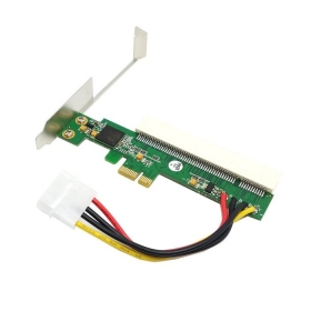 все цены на  30 pcs / lots PCI-Express PCIE PCI-E X1 X4 X8 X16 To PCI Bus Riser Card Adapter Converter With Bracket for Windows,By Fedex  онлайн