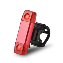 New Bike Bicycle Taillight 7 Mode Changes Rechargeable Waterproof Cycling Safety Warning LED Light USB Tail Rear Back Lights