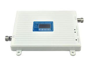 Image 1 - 3g 4g 1800/2100 lte répéteur 1800MHz 2100MHz double bande répéteur 65dbi LCD Signal daffichage WCDMA DCS amplificateur DCS Signal Booster