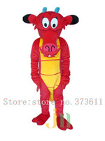 High quality Mushu dragon mascot costumes for sale dragon mascot Costume Character Costume dragon Cosplay Free Shipping