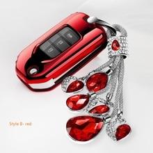 Fob Car Key Case Cover For Honda CIVIC ACCORD ODYSSEY EURO CRIDER JADE 2014-2016 Car Styling Soft TPU Protection Key Shell