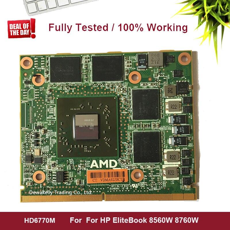 Original FirePro M5950 HD6770M HD6770 HD 6770M 216-0810001 VGA Video Graphics Card 1GB For HP EliteBook 8560W 8760W 100% Working
