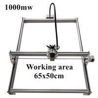 1000mW Mini Desktop DIY Laser Engraving Engraver Cutting Machine Laser Etcher CNC Print Image Of 50