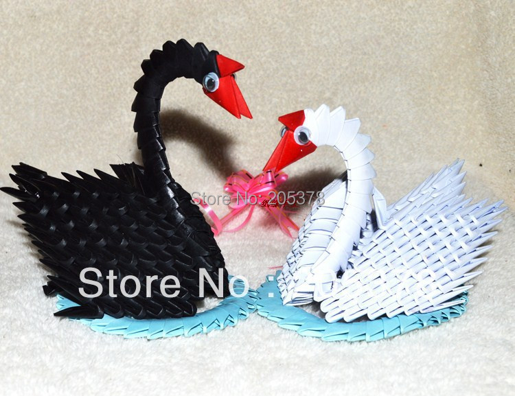 3d Origami Swan Images Handicraft Ideas Home Decorating