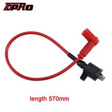 Free Shipping Motorcycle SUPER COIL IGNITION FOR Honda XR50 CRF50 XR 50 Pit Bike Red curve throttle cable for honda xr50 crf50 xr crf 50 70 bike