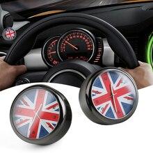 Car Styling Car Dashboard Reloj REINO UNIDO Union Jack Jack Decoración Accesorios Para Mini Cooper R55 R56 R57 R58 R59 R60 R61 F54 F55 F56 F60