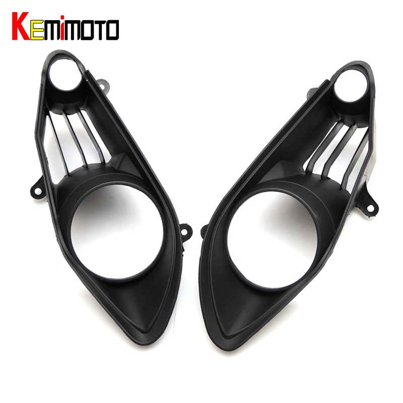 KEMiMOTO R1 2009 2010 2011 Motorcycle Front Headlight Cover For Yamaha YZF-R1 2009 2010 2011 kemimoto for yamaha rhino 450 2006 2009